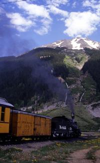 Durango Silverton narrow guage train
